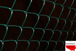 Siatka ogrodzeniowa pleciona (OCYNK + PVC) OCZKO 50mm x 50mm