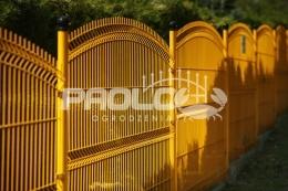Panel ogrodzeniowy ŁUK OCYNK+RAL H1100 mm (4mm)
